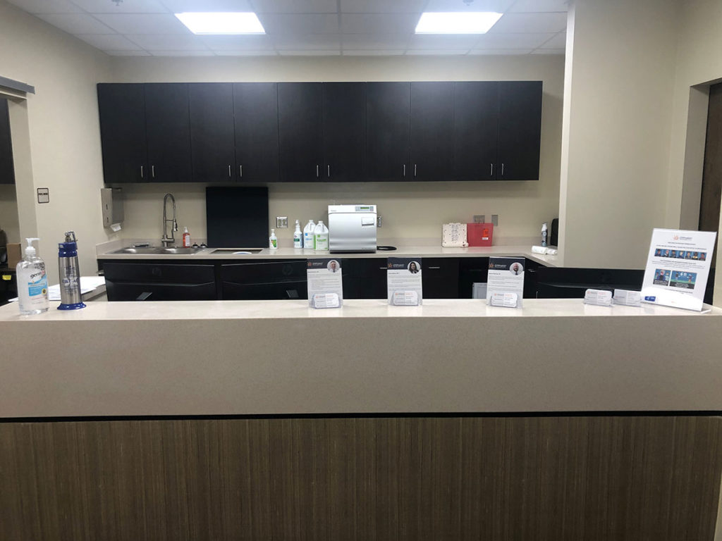 El Paso location reception