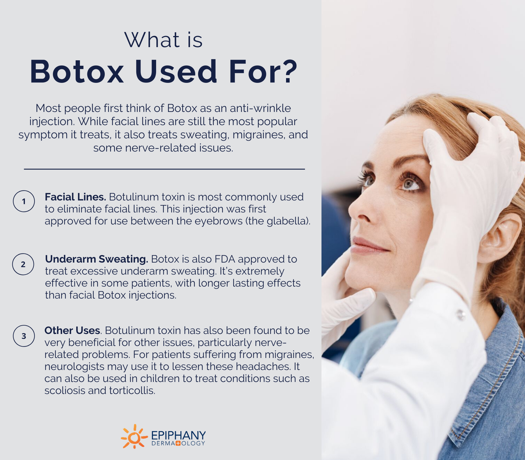 What is botox used for